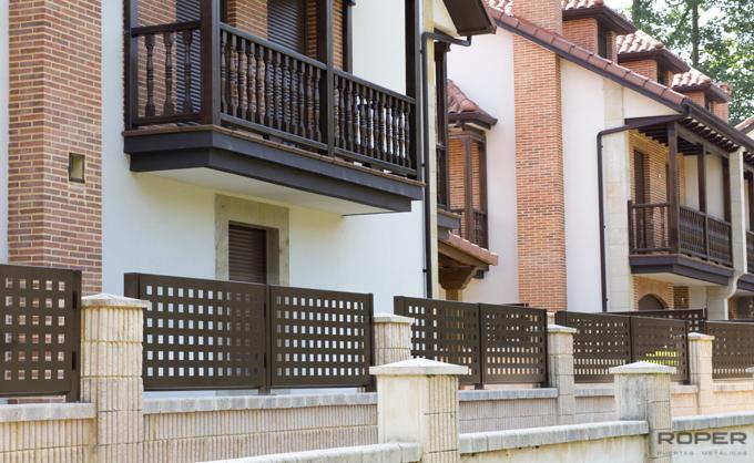 Clôtures de propriétés privées 5