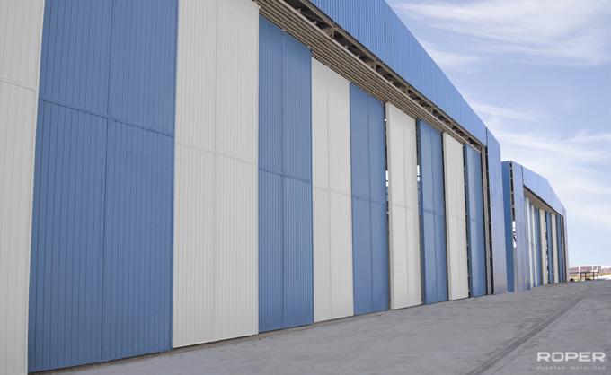 Porte Coulissante Industrielle 6