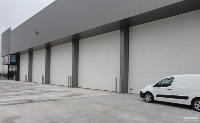 Porte sectionnelle industrielle roper - Porte de garage sectionnelle industrielle ...